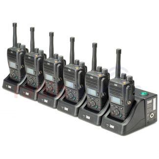 Entel DX485U 6 Pack With 6-Way Charger
