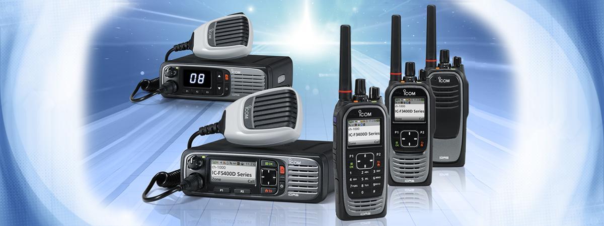 Icom IC-F3400D & Icom IC-F4400D