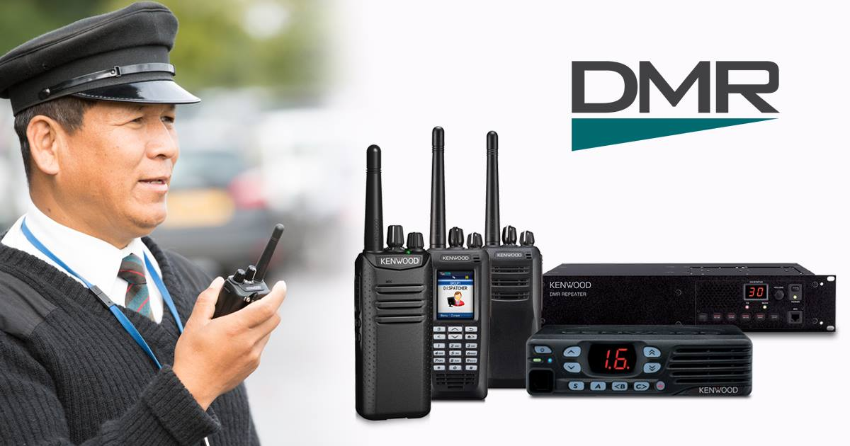 Kenwood DMR Two Way Radios