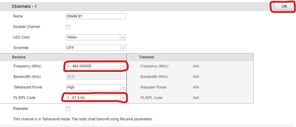 Motorola CLP Software Add Channel