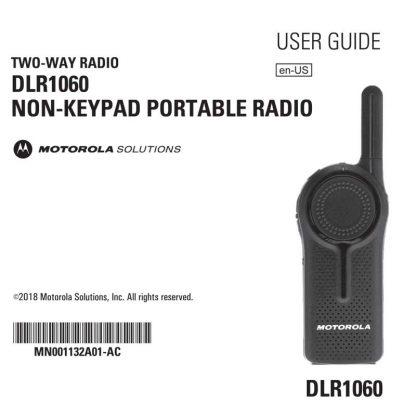 Motorola DLR User Guide