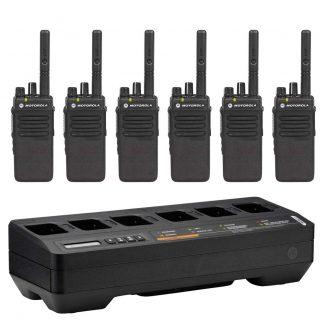 Motorola DP2400e 6 Pack (Multi Unit Charger)