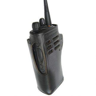 Motorola GP328 Leather Carry Case