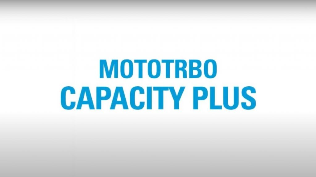 Motorola Mototrbo Capacity Plus