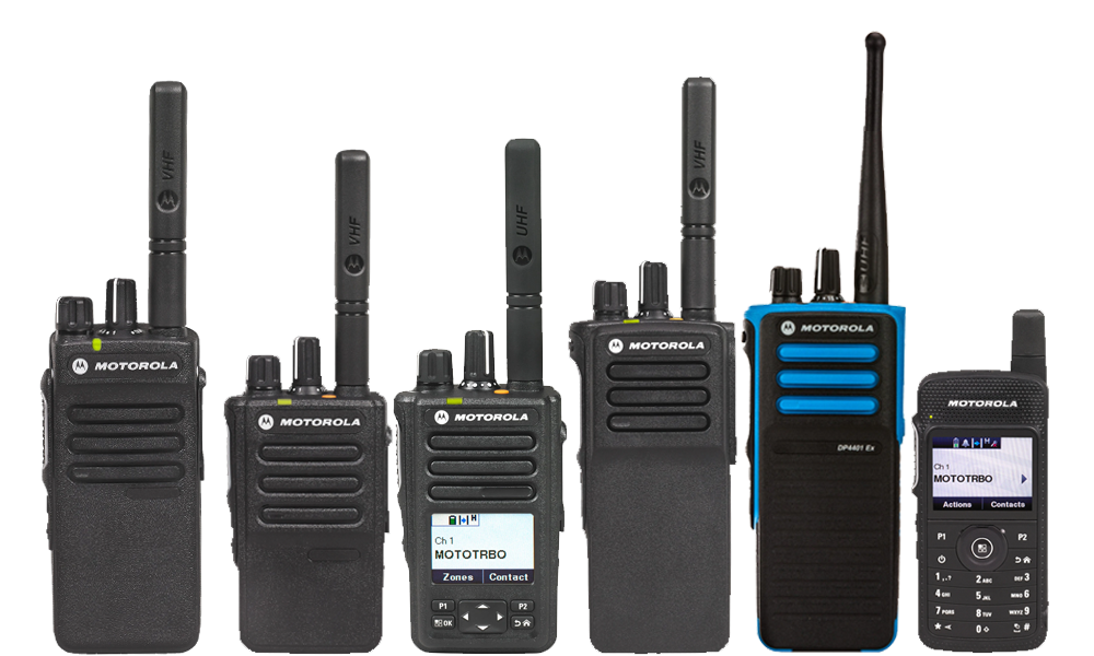 Motorola Mototrbo Two-way Radio Lineup