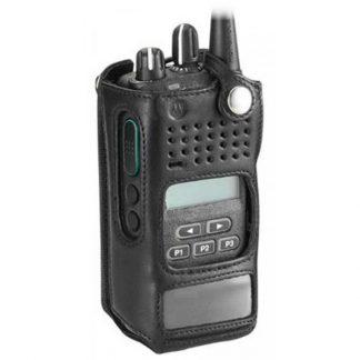 Motorola PMLN5334/PMLN5334A CP476 & CB Pro Plus Soft Leather Carry Case