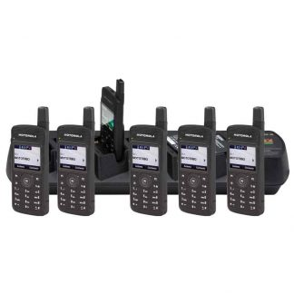 Motorola SL4010e 6 Pack Bundle With 6-Way Charger